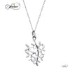 Delicate Tree Silver 925 Sterling Pendant Necklace