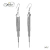 Tassel Earrings, 925 Sterling Silver, Silver Plated Multiple Chain Earrings
