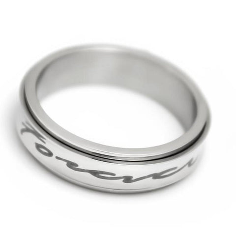 Forever Friends Purity Friends Spinner Ring  Unisex Ring Best Promise Gift - TZARO Jewelry - 1