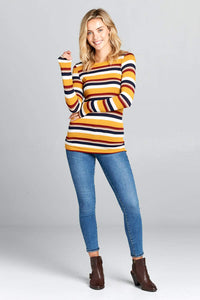 Long Sleeve top - Striped