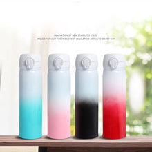 Load image into Gallery viewer, Colour Changing Stainless Steel Vacuum Flask
