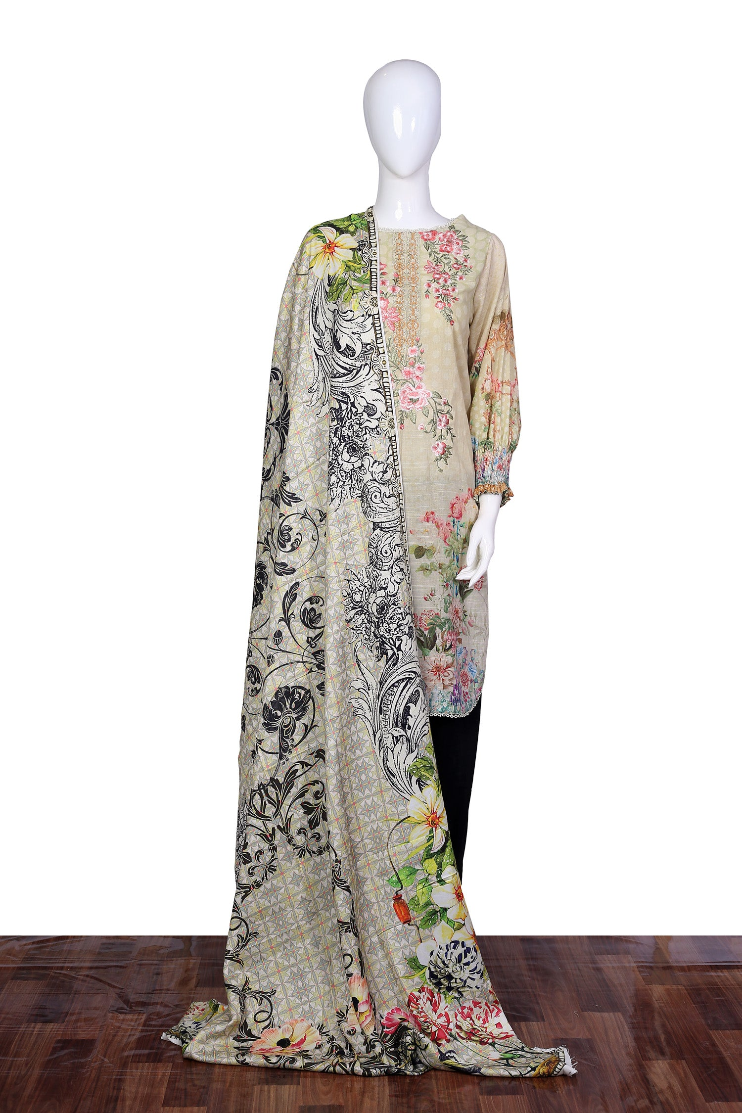 Bush Lily - Stitch 2PC Embroidered Khaddar