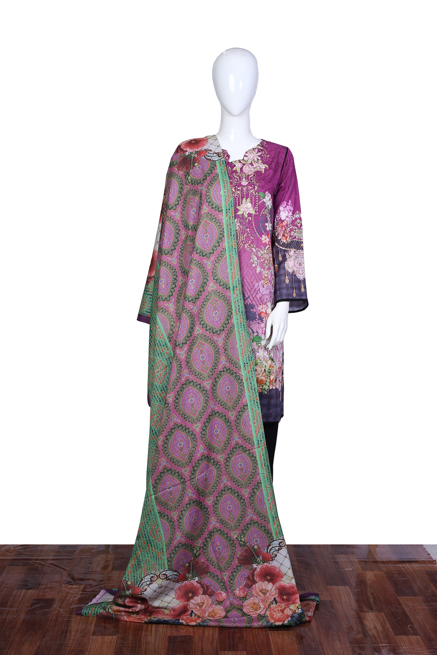 Diotis - Stitch 2PC Embroidered Khaddar