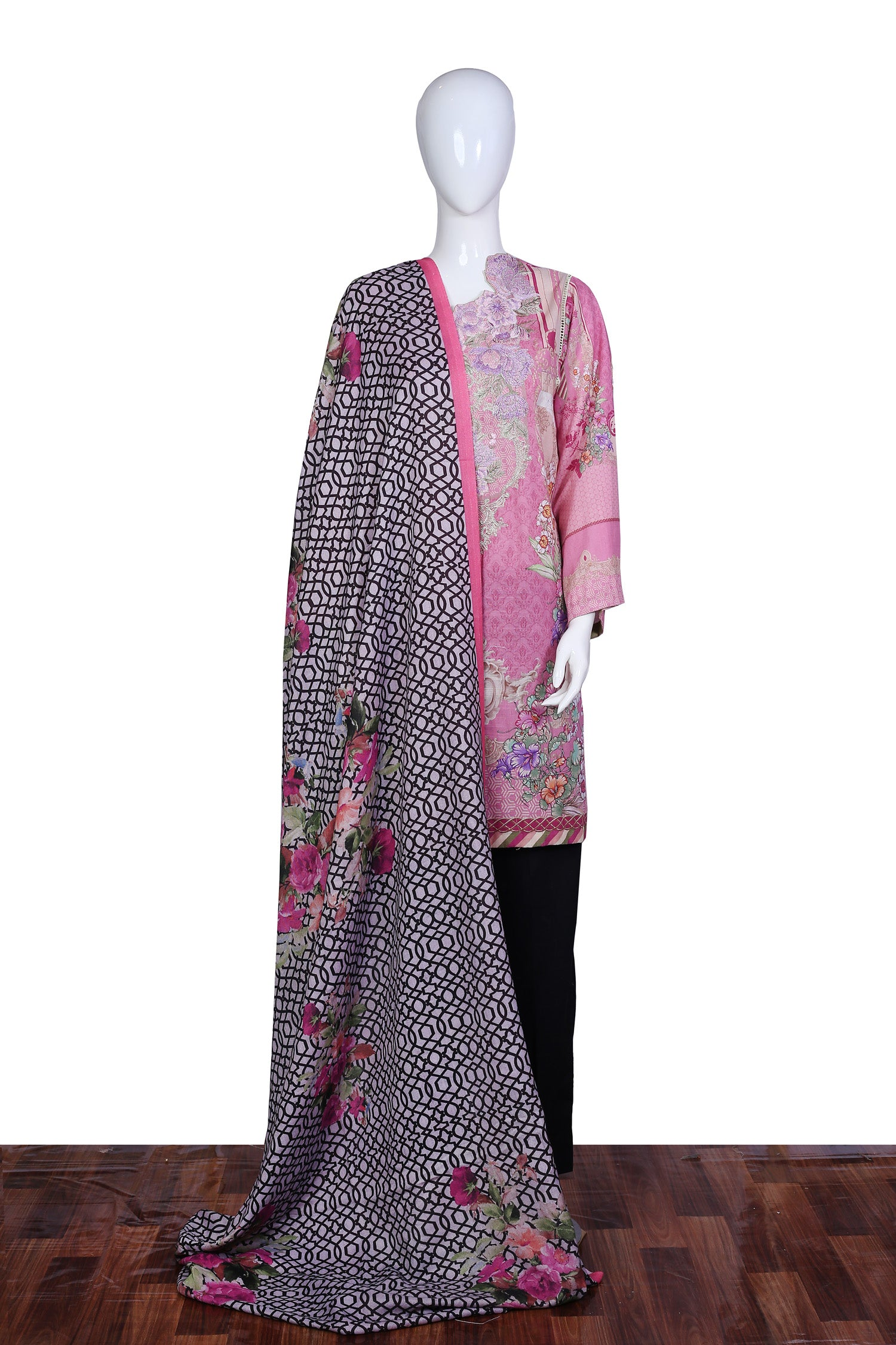 Glorybower - Stitch 2PC Embroidered Khaddar