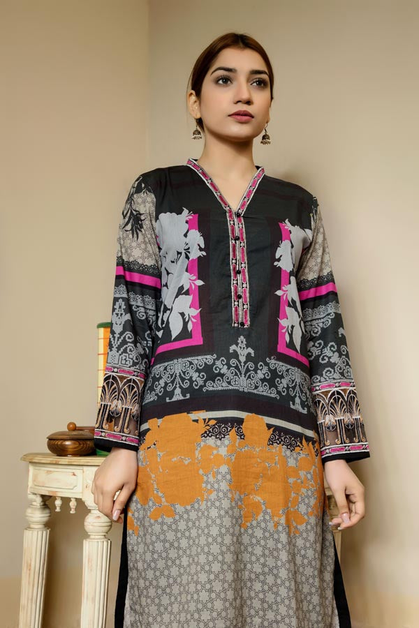Bentley - Stitched Lawn Kurti
