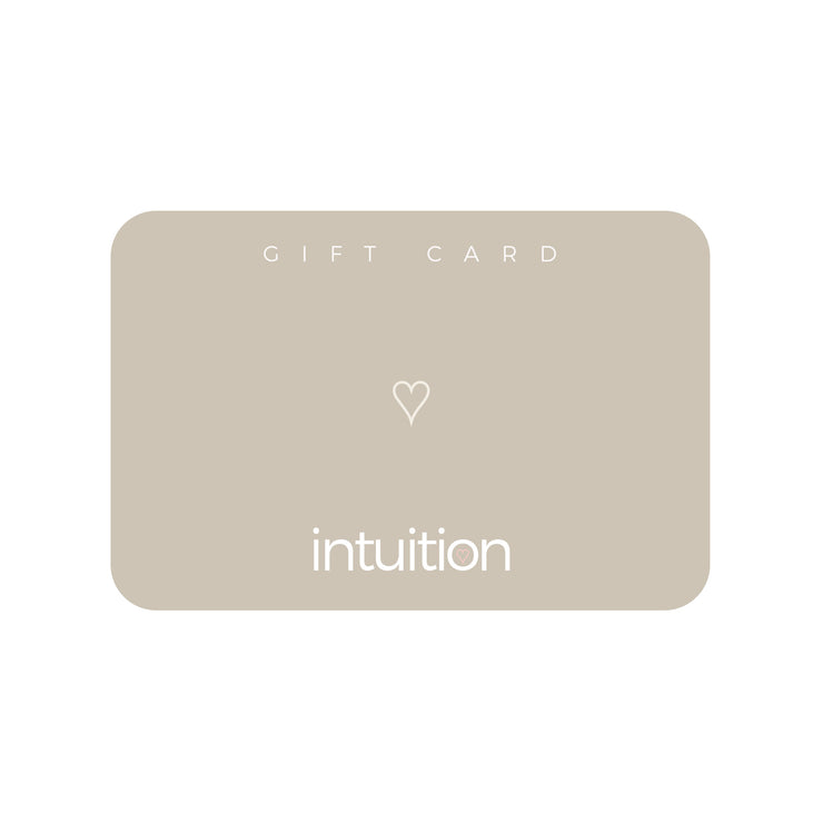 Intuition Gift card