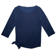 Shop TBYB - Grace Boat Neck Top - Navy