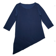 Grace Boat Neck Top - Navy