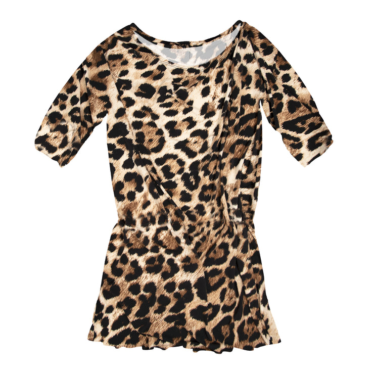 TBYB (Stylist) - Crawford Romper Dress - Leopard