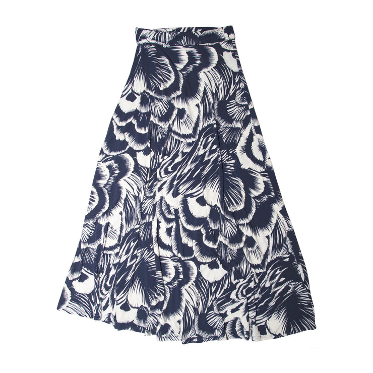 TBYB - Bardot Skirt - Navy Feather // Redeem 50% Off