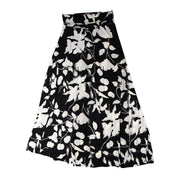 TBYB (Stylist) - Bardot Skirt - Black Feather