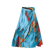 Bardot Skirt - Blue Storm