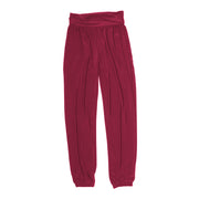Sienna Boho Pants - Burgundy // Redeem 50% Off
