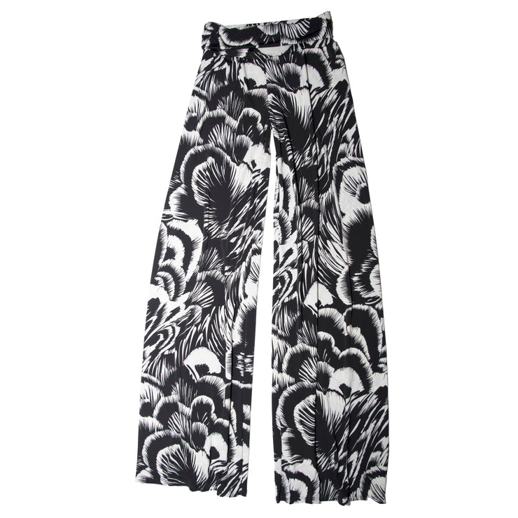 Shop TBYB - Keaton Palazzo Pants - Black Feather