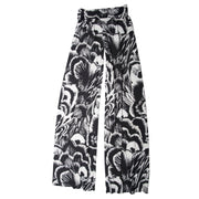 TBYB (Stylist) - Keaton Palazzo Pants - Black Feather