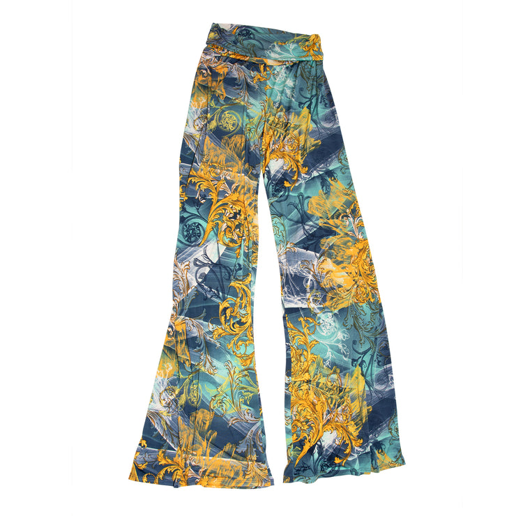 TBYB - Keaton Palazzo Pants - Mint Scroll // Redeem 50% Off