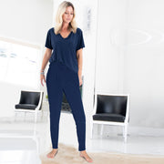 Lana Lounger Legging - Navy // Redeem 50% Off