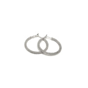 Modadia - Beaded Hoop Earrings // Redeem 50%