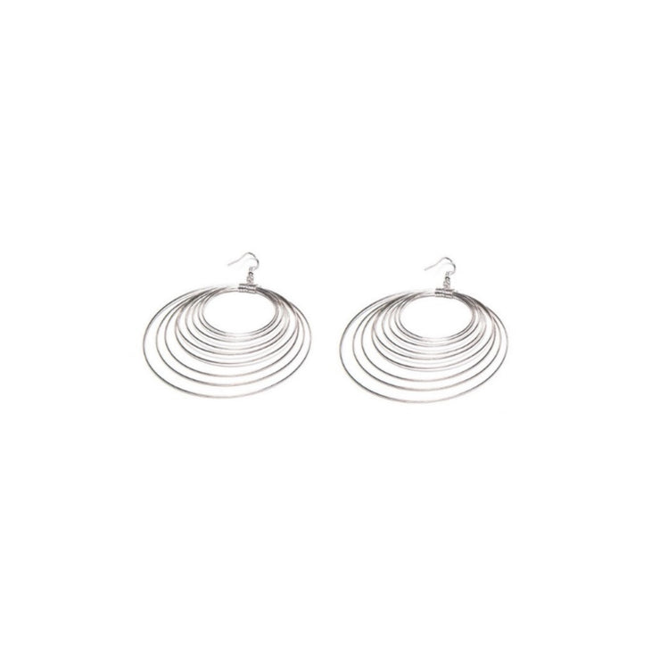 Modadia - Multi Circle Earrings // Redeem 50% Off