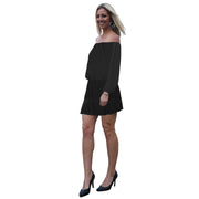 Crawford Romper Dress - Black // Redeem 50% Off