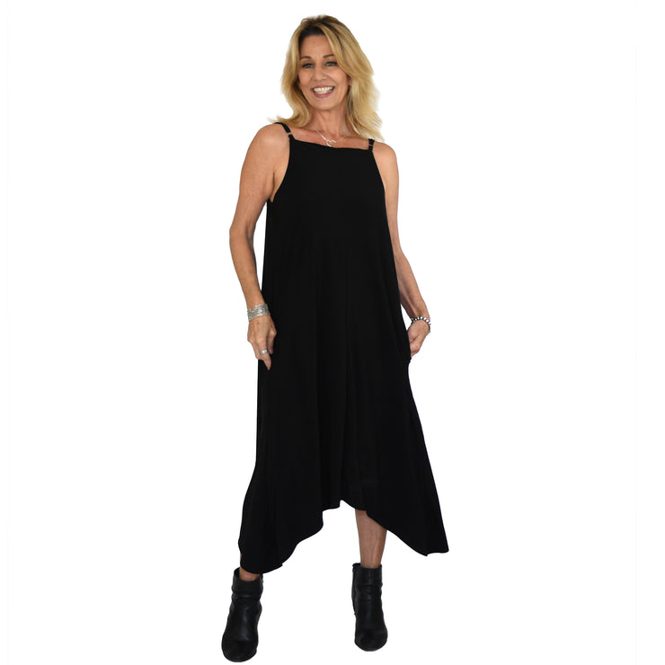Campbell Pocket Dress - Black // Redeem 50% Off