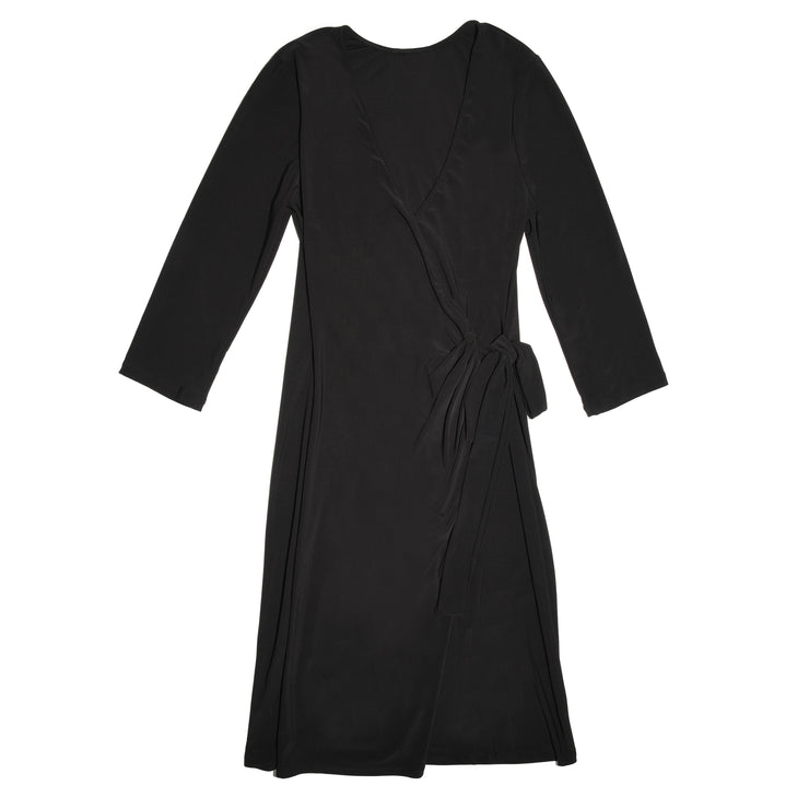 TBYB - Monroe Wrap Dress - Black // Redeem 50% Off