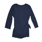 Monroe Wrap Top - Navy
