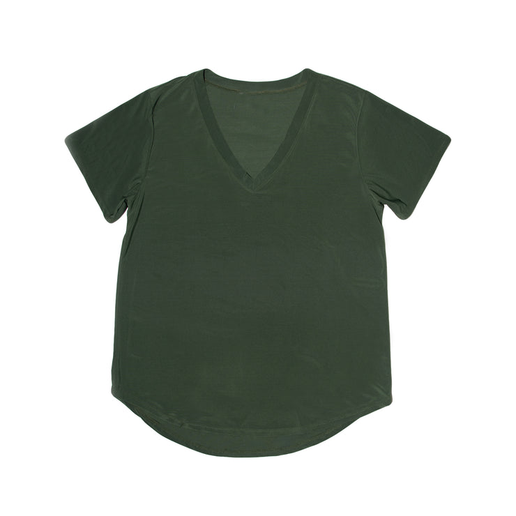 Savannah Casual Top - Olive