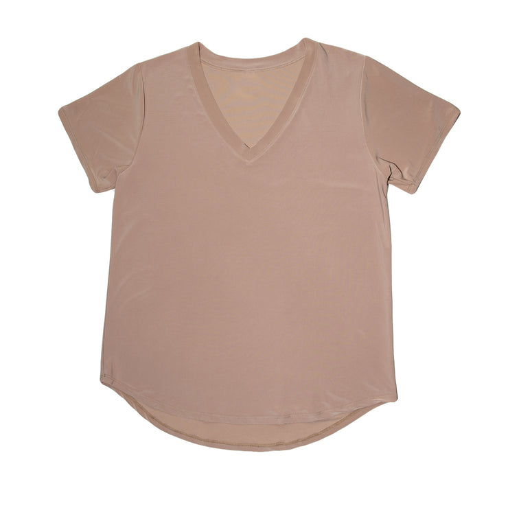 TBYB - Savannah Casual Top - Taupe // Redeem 50% Off