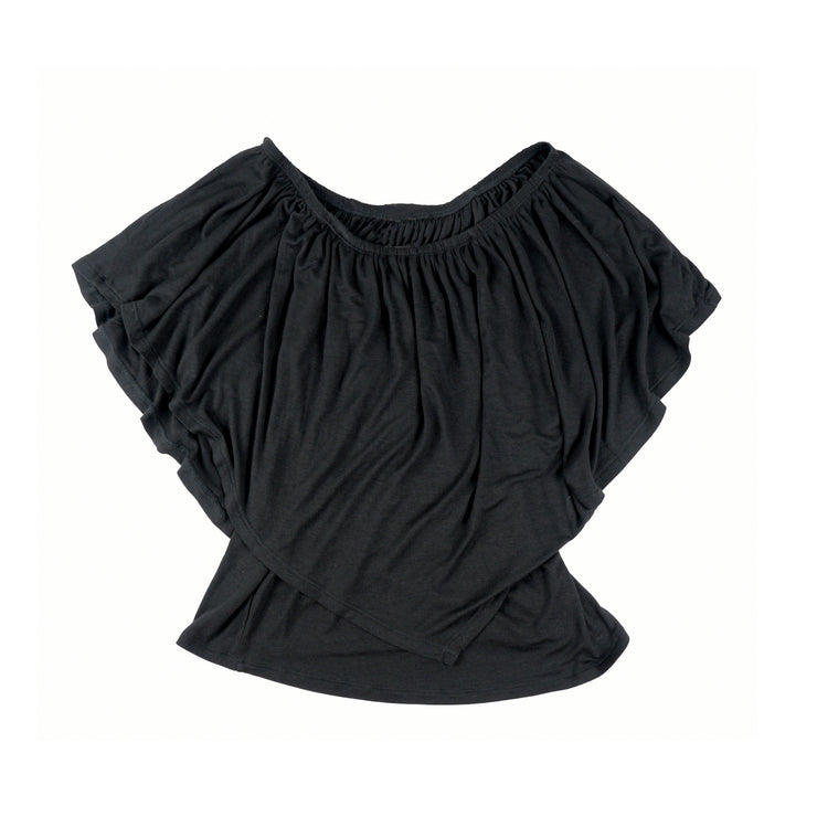 TBYB (Stylist) - Ross Off Shoulder Top - Black