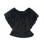 Ross Off Shoulder Top - Black
