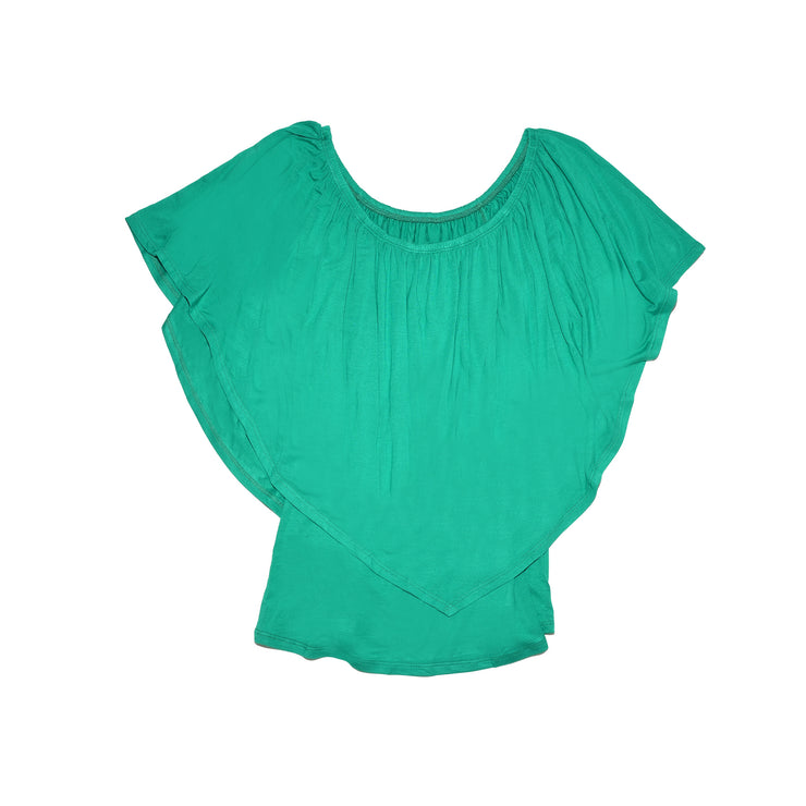 TBYB (Stylist) - Ross Off Shoulder Top - Kelly Green