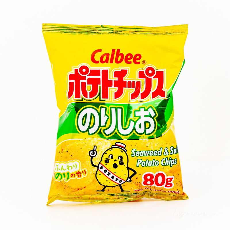 CALBEE Potato Chips-Seaweed & Salt