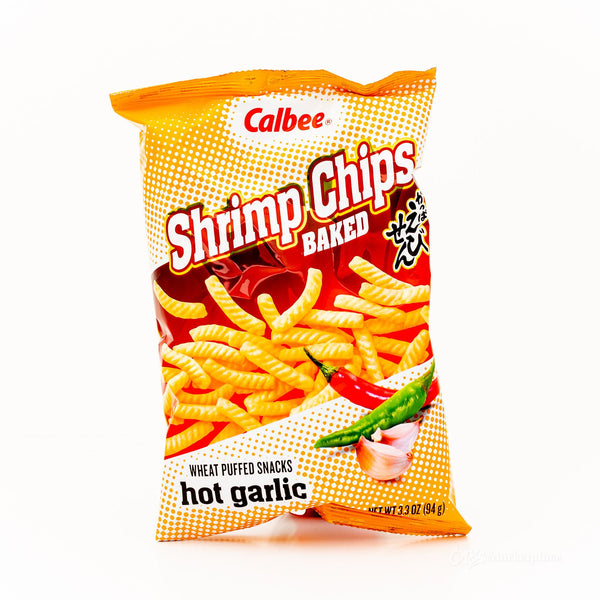 CALBEE Shrimp Chips-Hot Garlic