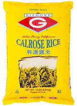 DIAMOND G Calrose Rice 15Lb