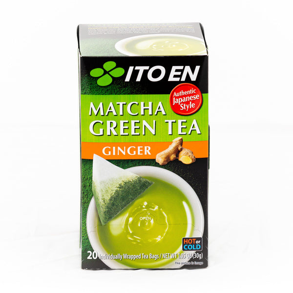 ITOEN Matcha Green Tea Bag-Ginger