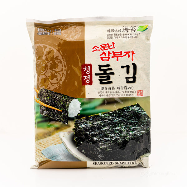 CHUNGJUNG Korean Seaweed Sheets 4pc