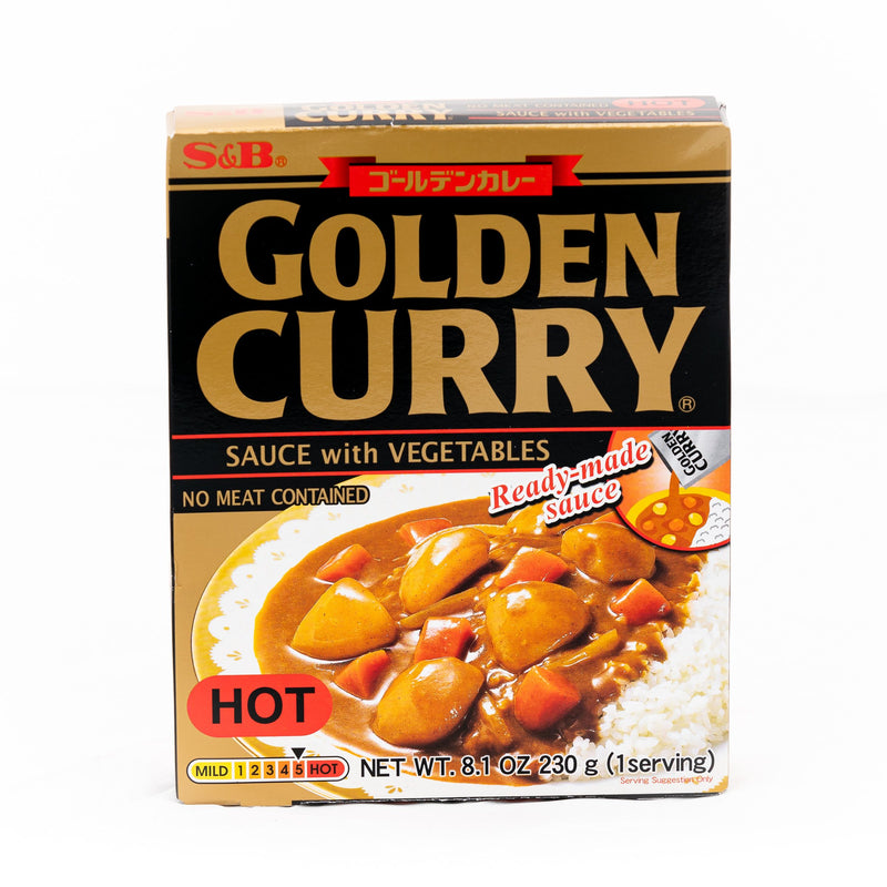 S&B Retort Curry-Hot