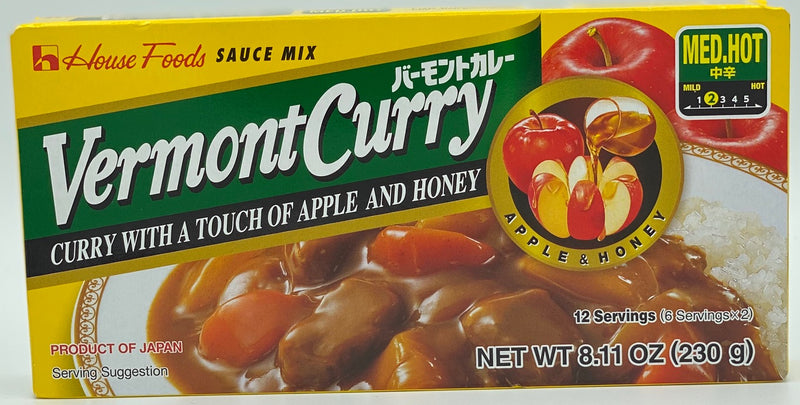 HOUSE Vermont Curry-Medium Hot