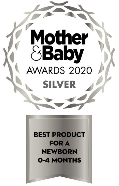 Mother & Baby Awards 2020 SILVER for Best Newborn Product