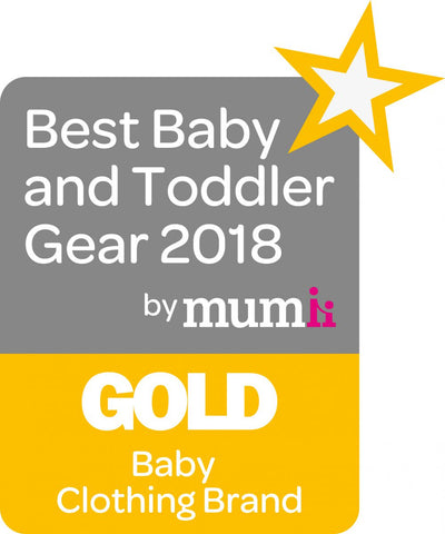 BBTG Best Baby Clothing Brand:  GOLD AWARD