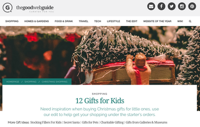 The Good Web Guide Gifts For Kids