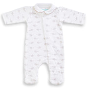 Grey Mouse Cotton Onesie