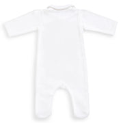 Pure White Cotton Onesie