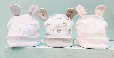 Newborn Baby Hat with Ears