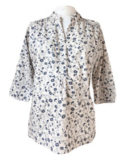 Blue Flowers Alice Shirt