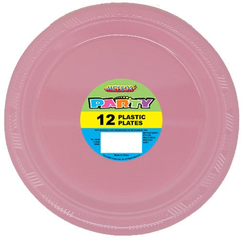 "32021 - Lovely Pink 12 x 18cm (7"") Plastic Plates"