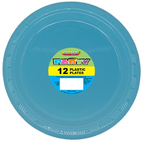 "32031 - Powder Blue 12 x 18cm (7"") Plastic Plates"