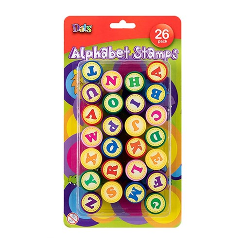 Stamp Kids Alphabet 26pk