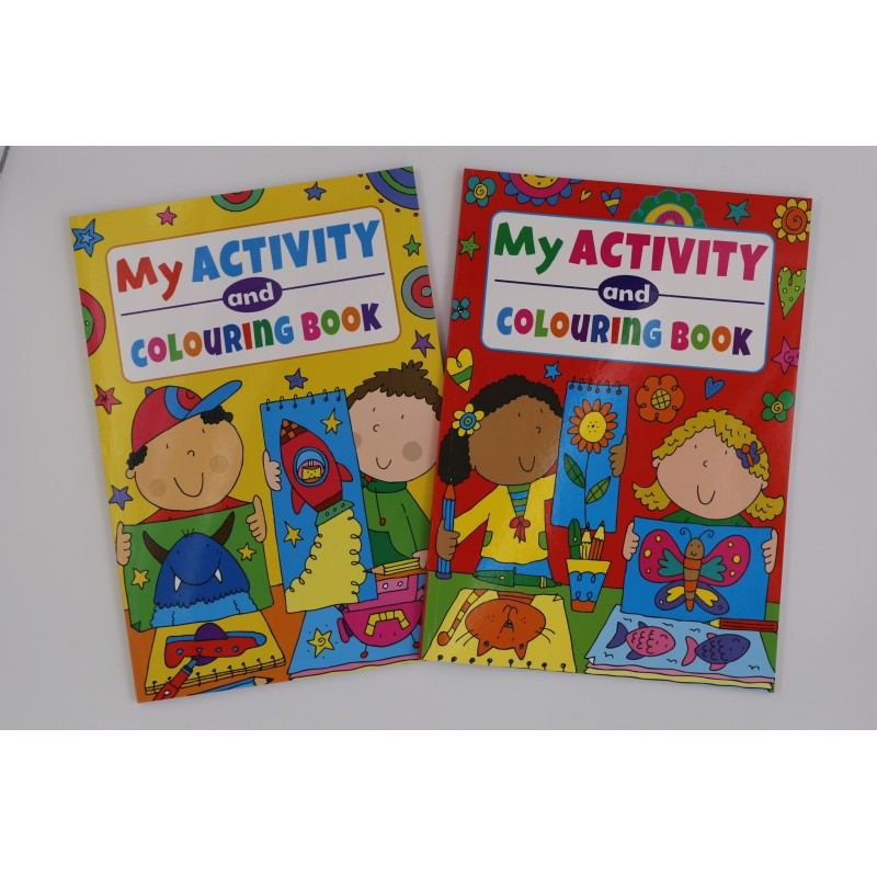 My Activitiy Colouring Book